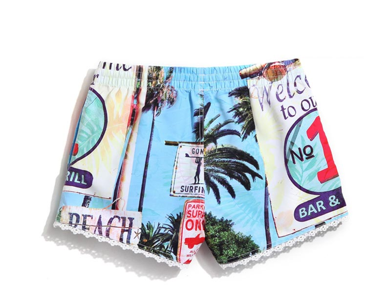 Summer swimsuits for woman bermudas beach surf shorts quick swimwear sexy water sports surfing bathing suirts sweat praia female 9