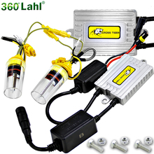 2017 9003 H4 Bi Xenon H7 HID Ballast Conversion kit Automobiles Bulb H8 H9 H11 9005 9006 HB4 H1 xenon Car Lights Lamp 55W 6000K(China)