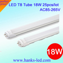 18w led tube in warm white cool white 25pcs lot  Free Shipping