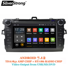 SilverStrong Android7.12 Car DVD for Toyota Corolla e150 Altis 2007-2011 DAB+ Radio gps 2 din