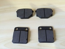 one whole set front and rear brake pad for LONCIN 500CC ATV one set include 2pcs  front and 2pcs rear