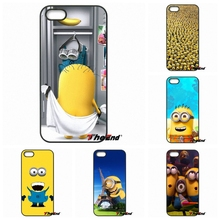 For Samsung Galaxy Note 2 3 4 5 S2 S3 S4 S5 MINI S6 Active S7 edge Cute Cartoon despicable me Minions Phone Case