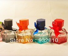 35ml Multi Color Glass Perfume Bottle Cosmetic Jars with Lids for Perfume Shop Wholesale 10pcs/lot CE508