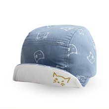 Cute Baby Kids Cat Cap Hat Bonnet Cotton Outdoor Dress Sun Hats 4M-18M