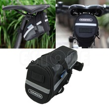 Bike Bag Waterproof Cycling Seat Pouch Bicycle Tail Rear Storage Bike Saddle Tube Bag