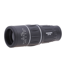 16X52 Portable Outdoor Dual Handheld Focus Monocular Telescope Zoom Optic Lens Binoculars Spotting Scope Coating Lenses Black