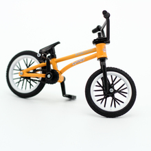 Flick Trix bmx finger bike toys for children mini bmx DIY mountain bicycle model funny gift kids gadgets Novelty game sports(China)