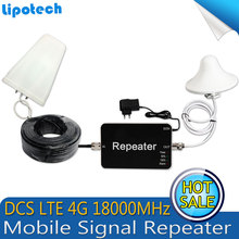Hot Sell! !4G LTE 1800MHz Signal Repeater Mobile Cell Phone Signal Booster Amplifier Antenna With 10m Cable For Tele2