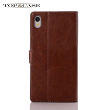 TUKE Leather Wallet Stand Case Sony Xperia Z1 Honami C6906 C6903 C6902 C6943 L39h Phone Bag SJ1319 Card Holder SJ1318 - TOP&CASE store