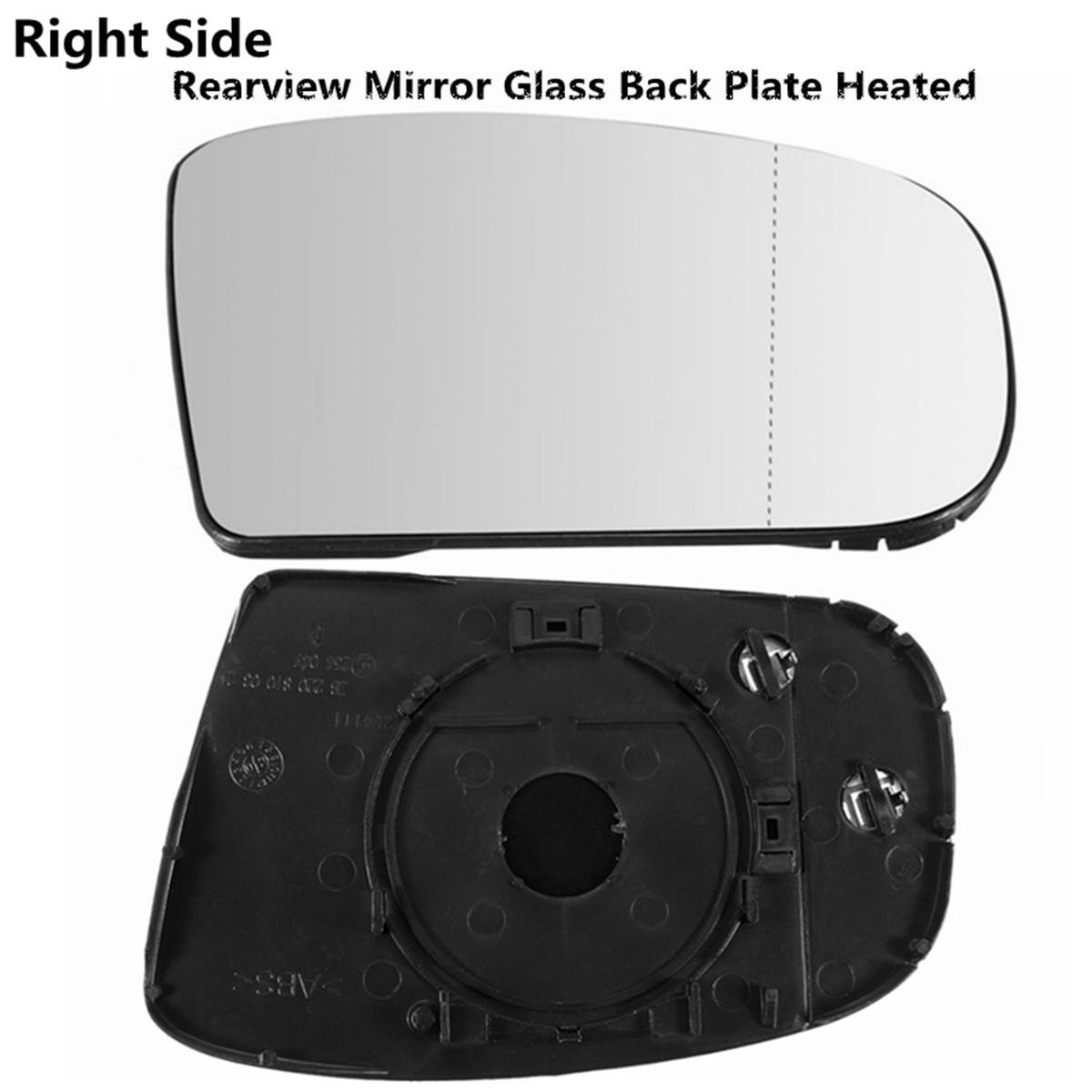 Droit Chauffant Électrique Grand Angle Aile Miroir De Verre Pour Mercedes Classe E W211 06+