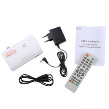 Kebidumei Free Shipping Smart TV Box Newest 1080P HDMI DVB-T DVB-T2 TV tuner Receiver AV CVBS LCD/CRT High Quality(China)