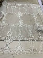 LJY60810 swiss voile lace /african swiss lace fabric 5yards one piece for wedding(China)