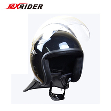 Mounted Police Officers Riot Protection Helmet Against Falling Melee Weapons/thrown Horse Motorcycle Helmet Motocross Vintage(China)
