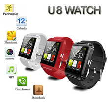 2016 Best sell Smartwatch Support Clock Pedometer Bluetooth Smart Watch Phone FOR IOS Android SmartPhone free shipping