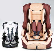 Lowest Price Baby Car Seat Chair Portable Natural Environmental For 9 Months -12 Years Old Child Safety Seat Chair(China)