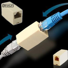 50pcs RJ45 modular RJ 45 CAT8 8P8C Network Ethernet Cable Connector Adapter Plug Coupler(China)