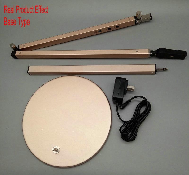 Artpad Energy Saving Modern LED Desk Lamp Dimmer Eye Care Swing Long Arm Business Office Study Desktop Light for Table Luminaire 11