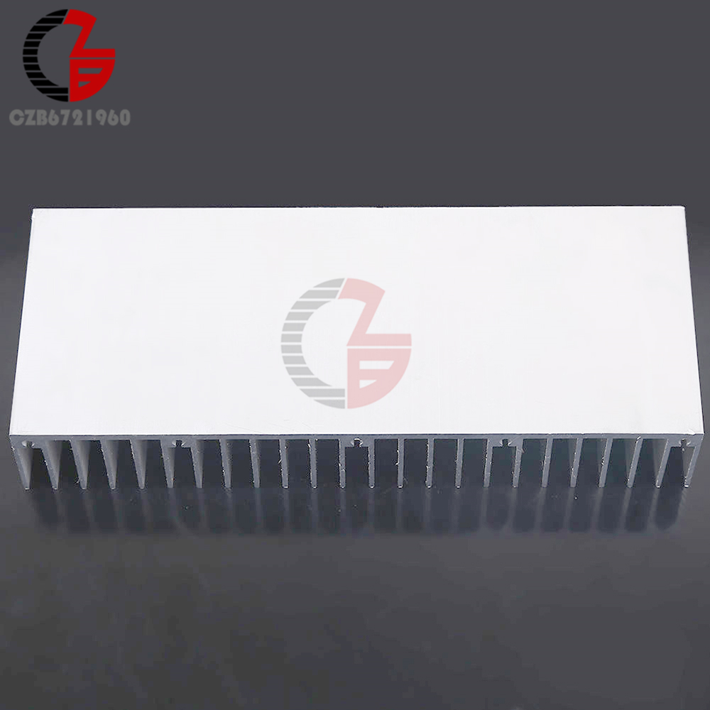 Aluminum Heat Sink for LED and Power IC Transistor 60x150x25mm New