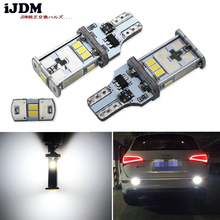 CAN-bus Error Free 12V 921 T15 W16W LED Bulbs Audi BMW Mercedes Porsche Volkswagen Backup Reverse Lights, Xenon White