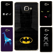 Case For SamSung Galaxy J1 J7 J5 2016 S5 S8 Plus S6 S7 Edge Mobile Phone Case Fish And Cats Smiley Giraffe Patterned Batman Hard(China)