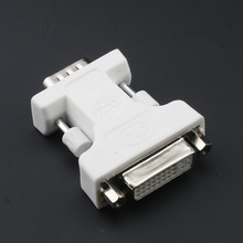 HWEXPRESS Hot New DVI female to 15 pin VGA Connector male Adapter