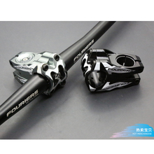 New FOURIERS Aluminum 35mm Gaint Mountain Bike OD2 Tube Stem Ultralight CNC made Cycling Bicycle Handlebar Stem in 2 Finishes