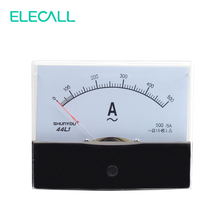 ELECALL 44L1 500/5A Pointer Type Amper Meter Head Analog Meter Mechanical Header Vertical Installation(China)