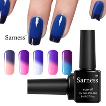 Sarness Gel Polish Chamelon 29 Style Temperature Changing Nail Polish Soak Off Gel Lacquer Color Changing Changes Color Gel