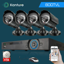 4CH HDMI 1080p CCTV DVR Video Surveillance Kit with CMOS 800TVL Security Camera System IR-CUT filter IR Camera 3G WIFI DVR