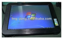 Newest all in one FANLESS 15 inch industrial tablet pc with 5xRs232 WITH intel atom n270 (PPC-150C)