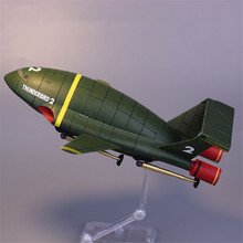 England Movie Thunderbirds Are Go Anime 21cm Thunderbirds Rescue Plane Figures Collection Model Toy Original Brand Toy