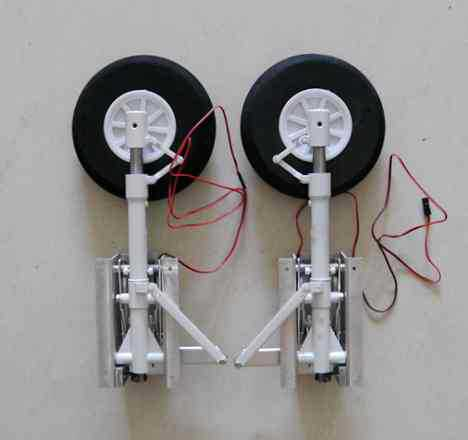 LX P-40E main landing gear sets for super warhawk P-40 P40 RC propeller airplane electric craft sky flight hobby(China)