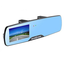 Novatek96650 4.3 inch 1080P HD car dvr rearview mirror, car rearview mirror video recorder with H.264(China)
