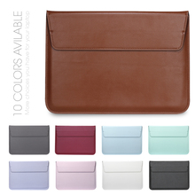 Fee Shipping New Leather Sleeve Protector bags For Apple macbook Air Pro Retina 11 12 13 15 laptop Cover For Mac book 13.3 inch
