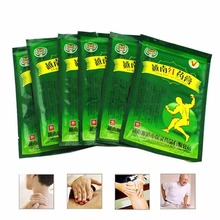 OPHAX 32pcs/4bags Original vietnam red tiger balm plaster Body Massager Relaxing Muscle Neck Joint Pain Patch F186PL(China)