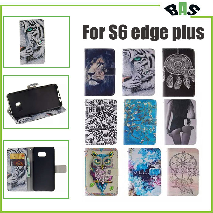 Fashion Leather Flip Phone font b Case b font for font b Samsung b font Galaxy