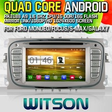 WITSON Android 4.4 CAR DVD GPS Capctive Screen for FORD MONDEO GPS Navi Car Stereo Radio DVD Player mp3 Bluetooth mirror link