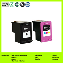 Compatible for 901XL CC654AN CC656AN CC654AE CC656AE (2-Pack) Ink Cartridge for HP: Officejet 4500, J4524, J4535, J4540, J4550(China)