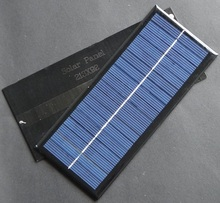 Hot Sale 10PCS/Lot 2.5W 9V Polycrystalline Solar Panel Small Solar Cell DIY Small Solar Power Charger 213*92*3MM Free Shipping