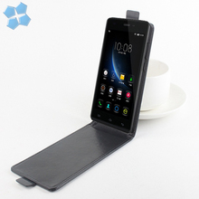 New ! Retro PU Leather Case For ZTE Blade A510 Luxury Vertical Magnetic Flip Phone Accessories Cover Black(China)