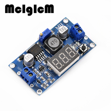 B0055  Free Shipping 1pcs DC 4.0~40 to 1.3-37V LED Voltmeter Buck Step-down Power Converter Module LM2596 Hot sale