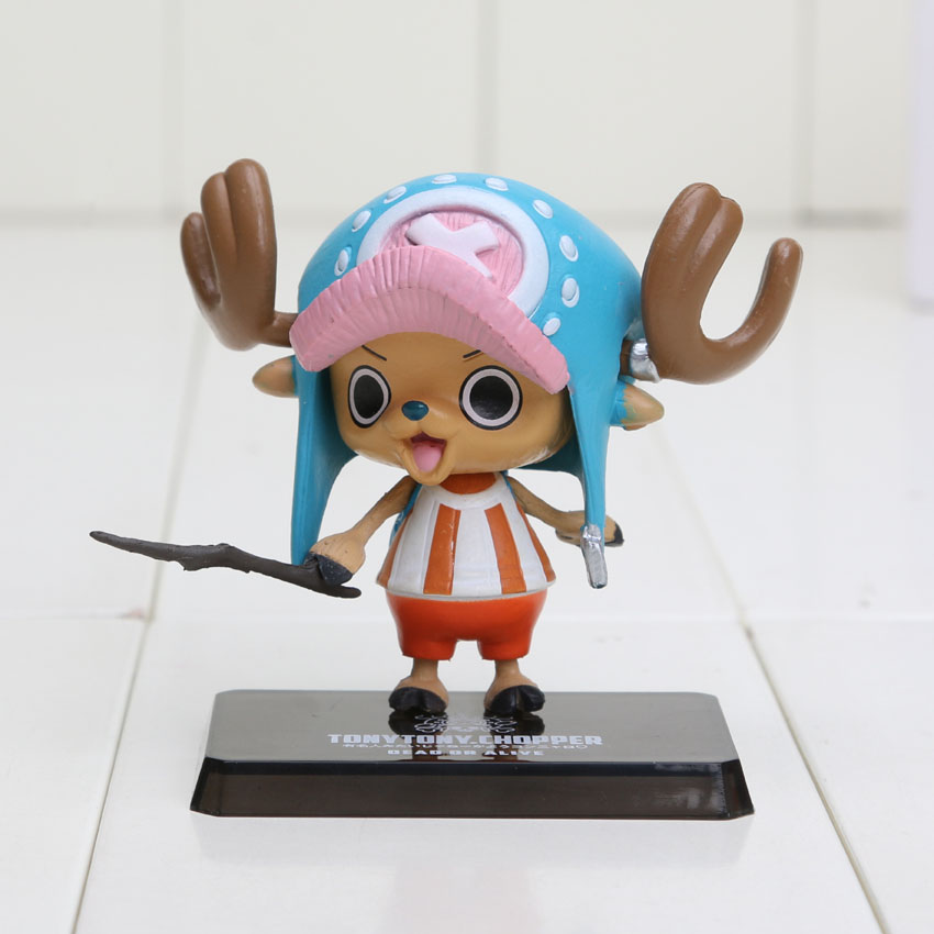 One Piece Tony Chopper figures After 2 Years PVC Action Figure Model Collection 6cm Free Shipping(China)
