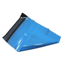 150Pcs Blue Courier Poly Mailer Bag Envelope Self Adhesive Plastic  Express Bags Mailing For Pack 6 Sizes