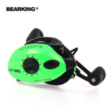 Bearking A+ series 2017 New Mela Super Light Weight Body Max 7.0: 1 Fresh/Salt Water Fishing Reel Spinning Reel Free Shipping