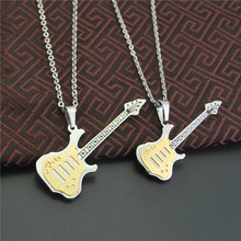 Eternal Anniversary BEYOND Guitar Lovers Necklace A Pair Men And Women Fund PUNK Accessories Product Music Gift