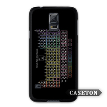 Chemical Chemistry College Periodic Tables Case For Galaxy S7 S6 Edge Plus S5 S4 S3 mini Win Note 5 4 3 A7 A5 Core 2 Ace 4 3