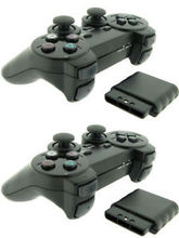 2 pcs High Quality for PS2 Controller for Sony Playstation 2 Wireless Controller Vibration Gamepad