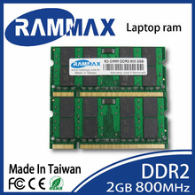 New sealed SO-DIMM 800Mhz Laptop ddr2 Memory Ram 2GB/PC2-6400/200-pin suitable with all brand motherboards of Notebook laptop