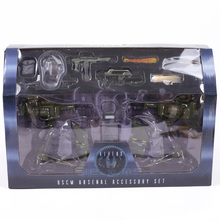 NECA ALIENS Uscm Arsenal Accessory Set PVC Action Figures Collectible Model Toys 14-pack(China)