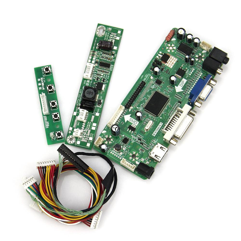 M.NT68676 LCD/LED Controller Driver Board(HDMI+VGA+DVI+Audio) For LTN154BT02 B154PW04 1440x900 LVDS Monitor Reuse Laptop<br>